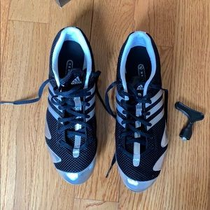 adidas Shoes - 👟 Adidas Track Sneakers Size 9.5